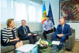 Moldovan premier meets co-rapporteurs for Moldova