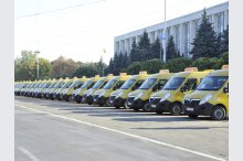 Romanian government donated transport units for Moldovan schools, public institutions and theatres'