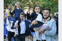 For nearly 340 thousand pupils started the new school year'
