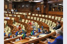 Moldovan parliament rejects censure motion against government'