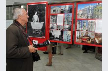 The exhibition on the history of Riga'