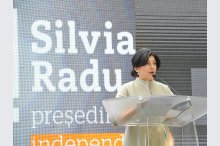 Candidate for president position Silvia Radu launches her election campaign'