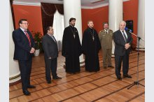 Embassy of Romania in the Republic of Moldova organized an exhibition, Military Priests in World War I'