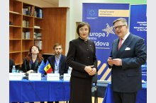 The EU Delegation to Moldova launches the Young European Ambassadors' campaign'