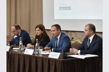 The first forum, Moldova-Romania, in the justice sector, titled, Justice Reform and Fighting Corruption in European Perspective'