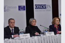 The international observers monitoring the presidential elections' runoff presented their post-electoral statements at a news conference'