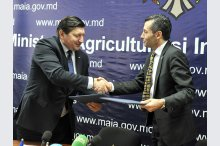 The signing of a FAO framework programme on support in Moldova for 2016-2019.'