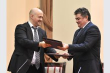 Signing of Financing Agreements by BERD and BEI for construction of  gas pipeline Ungheni – Chisinau'