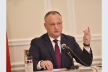 President Igor Dodon held a press conference '