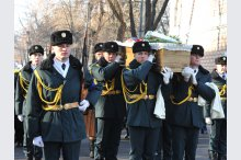 The funerals of master Ion Ungureanu '