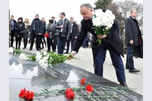 Soldiers killed in Afghan war commemorated in Chisinau'