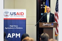 The United States Agency for International Development (USAID) launches a new project on assistance for Moldova's agricultural sector'