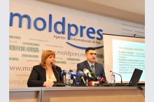 News conference on the unveiling of the findings of a study on Chisinau residents' attitude towards an initiative on the dismissal of the Moldovan capital's general mayor, organized by limited company iData/Date inteligente (Intelligent Data)'