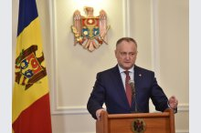 President, Igor Dodon, has held a  news conference'
