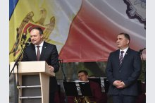 Moldovan speaker attends celebration of Ialoveni district'