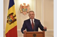 President Igor Dodon held a news conference'