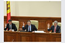 Plenary Session of the Parliament of the Republic of Moldova'