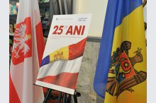 An exhibition and event on the 25th anniversary of the establishment of the diplomatic relations between Moldova and Poland'