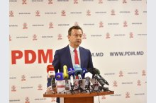 Briefing for press of the Democratic Party of Moldova (PDM) '