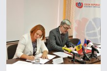 Signing of the Memorandum of Understanding on the program implementation for transformation of the residential care system for persons with mental disabilities in Moldova'
