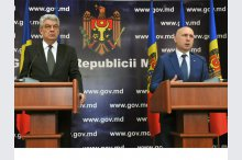 Prime Minister, Pavel Filip, and Romanian Prime Minister, Mihai Tudose, held a press conference'